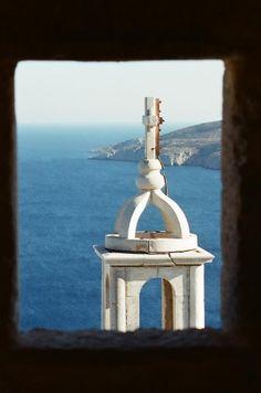 Astypalaia ishland Window View, Beautiful Scenery, Greek Islands, Country, Islands, Greek Isles, Rural Area, Country Music
