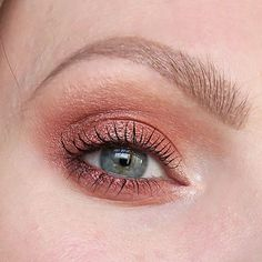 Warm toned eye make up using the Urban Decay Naked Heat palette
