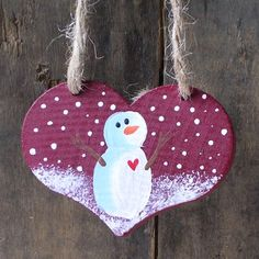 Unique Country Crafts | ... Ornaments, Personalized Christmas Ornaments by Berry Country Crafts