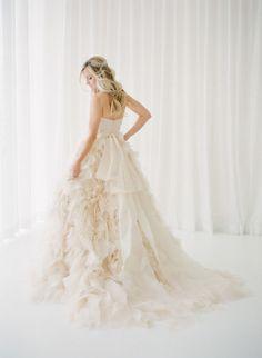 Speed Dating - Wedding Dresses & Gowns 2017 / blush pink wedding dress: Blush Pink Wedding Dress, Blush Pink Weddings, Colored Wedding Dresses, Bridal Dresses, Wedding Gowns, Blue Wedding, Gowns 2017, Bridal Portraits, Dream Dress