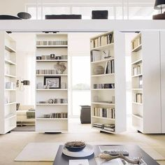 casters room divider book shelf - Google Search