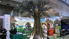tree exhibition stand - Google Search 3d Tree, Google Search