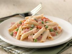 Creamy Ham and Penne Pasta Recipe : Food Network - FoodNetwork.com