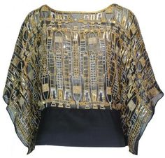 Matthew Williamson 1990's silver and gold beaded top, from Atelier Meyer.  You may need to save up for this vintage piece though....