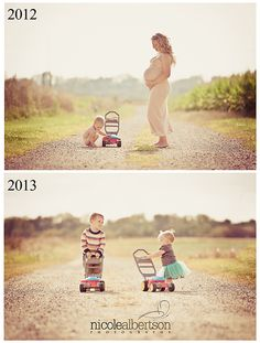 maternity photography one year later