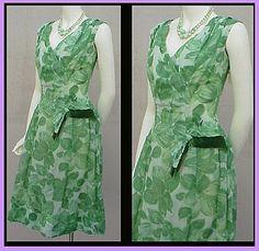 1960s Semi Formal Cocktail Dress