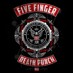 Bravado - Roughed Up - Five Finger Death Punch - T-Shirt - Merch
