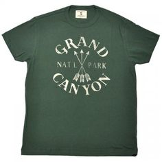 TAILGATE(テールゲート) VINTAGE PRINT T SHIRTS(ビンテージプリント Tシャツ)【GRAND CANYON】VINTAGE GREEN