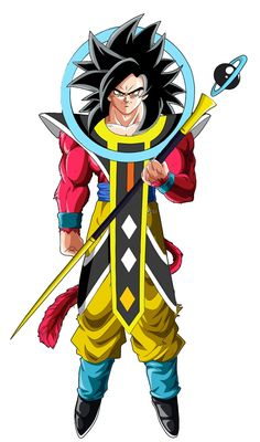 Goku ssj4 ángel