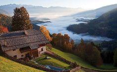 Chalé norte da Itália.