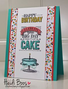 Creation Station Blog Hop - Big Day