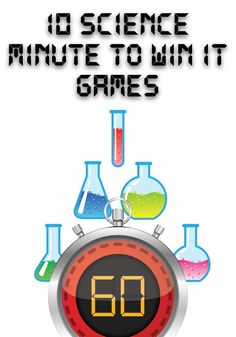 Science Minute to Win It Games - Use These Games With the New Bible Science Children's Ministry Curriculum. Art Games For Kids, Games For Kids Classroom, Kids Party Games, Children Games, Fun Games, Childrens Ministry Deals, Children Ministry, Ministry Ideas, Bible Science