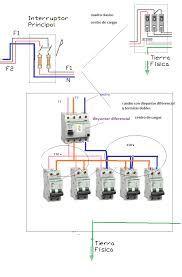 Resultado de imagen para esquemas de electricidad con llave diferenciales