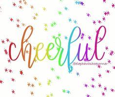 Cheerful by elephantshoecor   Redbubble   digital art   procreate   ipad art   Elephant Shoe Corner   cheerful   positive vibes Positive Vibes, Positive Quotes, Cute Wallpaper For Phone, Ipad Art, Greeting Cards Handmade, Cute Wallpapers, Digital Illustration, Diy Bedroom Decor, Hand Lettering