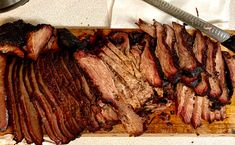 It's not easy smoking brisket but that's why we do it. Oh and it tastes great!  www.ClaudesSauces.com
