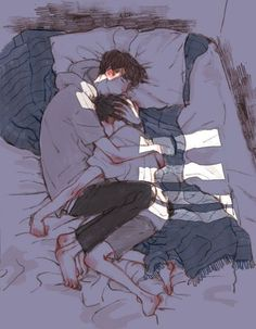 Image about couple in anime, manga and video games by ♤ h Cute Couple Drawings, Cute Couple Art, Anime Couples Drawings, Anime Love Couple, Cute Anime Couples, Cute Drawings, Anime Couples Sleeping, Anime Couples Cuddling, Couple Stuff