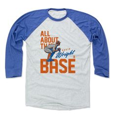 David Wright Base O New York M Officially Licensed MLBPA Baseball T-Shirt Unisex S-3XL