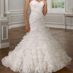 Mori Lee wedding gown-sample sale Mermaid style wedding gown Dresses