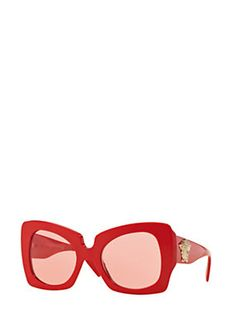 Versace - Red Butterfly Sunglasses