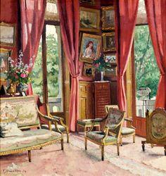 Le Salon, 1904 / Félix Edouard Vallotton