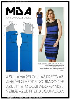 ModelistA: A4 - NUM 0036 - DRESS