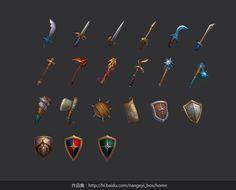 weapons by ~nangeyi on deviantART