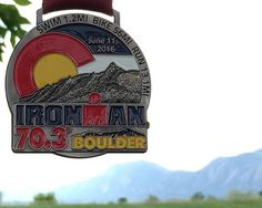 2016 IRONMAN 70.3 Boulder Medal