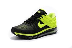hot sale online c335d 22b7f Nike Air Max 2017 Running Men Shoes Black Green http   feedproxy.google