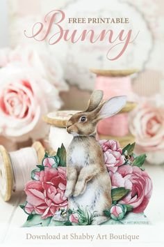 Shabby Art Boutique - Putting homemade back into everyday life! Easter Printables, Free Printables, Decoupage Printables, Decoupage Ideas, Decoupage Art, Paper Quilt, Scrapbooking, Print And Cut, Craft Tutorials
