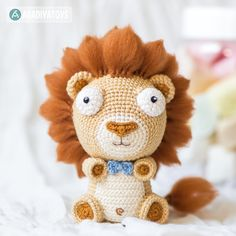 Lion Cubs Bobby and Lily amigurumi pattern by AradiyaToys