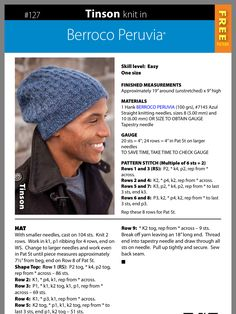 Mens Knit Beanie, Slouchy Beanie Pattern, Knit Hat For Men, Knit Headband Pattern, Knitted Headband, Knitted Hats, Crochet Hats, Beanie Knitting Patterns Free, Loom Knitting