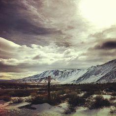 Beautiful Mammoth Mountain scenery