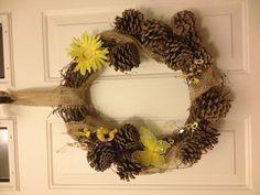 DIY summer country wreath
