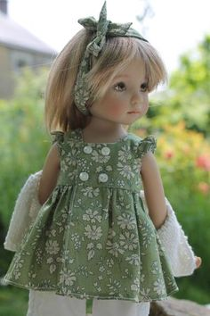 susi … love these dolls .. click through to see … Cheries Vaniline - Envie de soleil??? N°13 patron 020