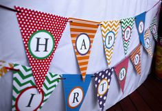 Birthday Banner #birthday #banner