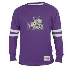 TCU Horned Frogs Gameday Mascot Applique Crew - Purple