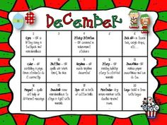 2013 EDITABLE ELF CALENDAR FREEBIE -