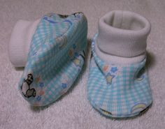 Baby Bootie Pattern 5 Designed For Preemie And Newborn Babies Up To 12 Months Sewing