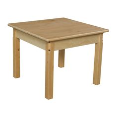 Wood Designs 24 Square Activity Table gets free shipping to your business from Wayfair Supply - Great deals on all office products with an amazing selection to choose from.