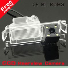 CCD Car Rear Camera for Kia K2 Rio Hatchback Ceed  2013 Review Reverse Camera