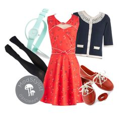 Style a sundress for the winter months with tights and a cardi!