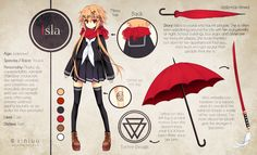 Isla Reference by Rini-tan on Deviantart