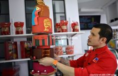 Chef Jack Labang Shares 5-Million Worth of Cake in QC