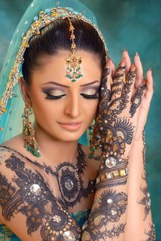 Bridal eid mehndi @ fashionguru99