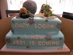 star wars baby shower cake... Love it!