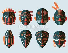 máscaras africanas aula de arte - Pesquisa Google