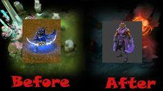 Эволюция героя Anti-Mage Dota 2