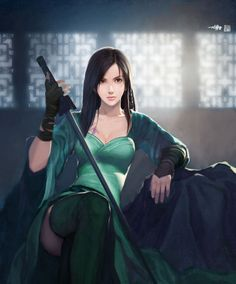 Wielder of katana Samurai Art, Samurai Warrior, Fantasy Women, Fantasy Girl, Fantasy Team, Female Character Design, Character Art, Fantasy Characters, Female Characters