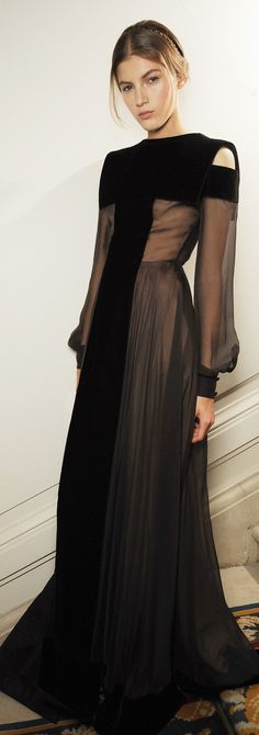 ♛ ♛  VIP Pass Backstage Fashion Show  Backstage at Valentino Couture Fall 2013
