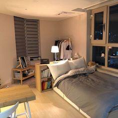 공간 소개는 오 korean bedroom design small bedroom ideas small attic bedroom h Dream Rooms, Dream Bedroom, Home Bedroom, Bedroom Decor, Master Bedroom, Bedroom Brown, Bedroom Black, Bedroom Small, Bedroom Kids